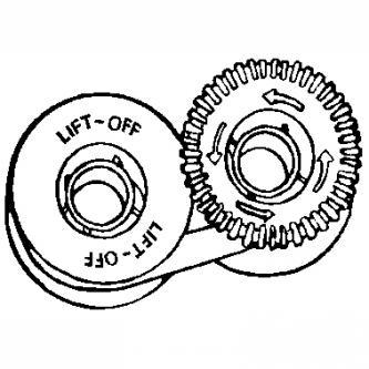 Korektúrna páska Gr. 149, lift off, balené po 5ks, cena za 1 ks, N