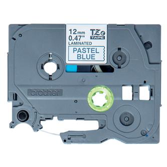 Brother originál páska do tlačiarne štítkov, Brother, TZE-MQ531, čierny tlač/modrý podklad, 4m, 12mm, pastelový podklad