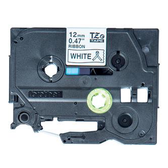 Brother originál páska do tlačiarne štítkov, Brother, TZE-R231, čierny tlač/biely podklad, 4m, 12mm, pruhovaná