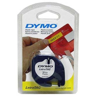 Dymo originál páska do tlačiarne štítkov, Dymo, 12268, S0721540, čierny tlač/pri