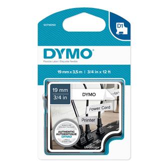 Dymo originál páska do tlačiarne štítkov, Dymo, 16958, S0718050, čierny tlač/bie