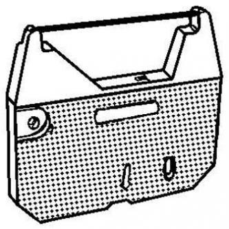 Páska pre písací stroj pre Brother AX 110, 250, 310, 33, 410, LW 300, WP 70, čierna, textilná, PK142, N