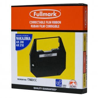 Páska pre písací stroj pre Nakajima AX 200, 300, 500, 60, EW 310, 1000, čierna,