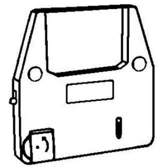 Páska pre písací stroj pre Robotron Erika 6007, 6100, čierna, fóliová, PK143, N