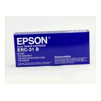 Epson originál páska do pokladne, C43S015369, ERC 31, čierna, Epson TM-H5000, M-