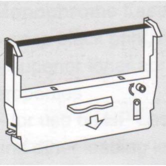 No Name kompatibil páska do pokladne, ERC 37, čierna, pre Epson
