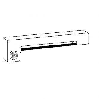 Kompatibil páska do pokladne, ERC 09, fialová, pre Epson M-160, 163, 164, 180, 185, 190, 191, 192