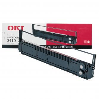 OKI originál páska do tlačiarne, 9002308, čierna, OKI 3410