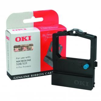 OKI originál páska do tlačiarne, 9002315, čierna, OKI 520, 521