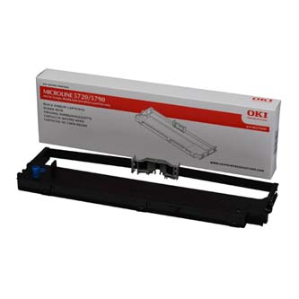 OKI originál páska do tlačiarne, 44173405, čierna, OKI ML5720, ML5790