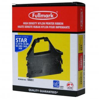 Fullmark kompatibil páska do tlačiarne, čierna, pre Star LC 15, 24-10, NX 1500, 2400, 2440, ZA 200, 250