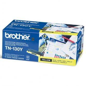 Brother originál toner TN130Y, yellow, 1500s, Brother HL-4040CN, 4050CDN, DCP-90