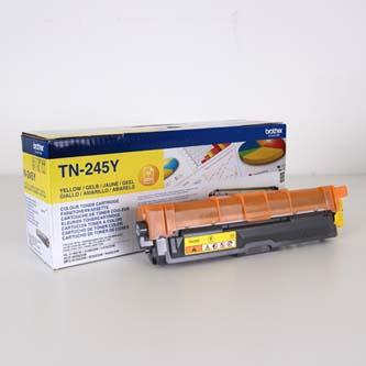 Brother originál toner TN245Y, yellow, 2200str., Brother HL-3140CW, 3170CW
