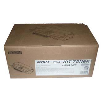 Develop originál toner 4827000037, black, 4000s, TC-16, Develop D162F