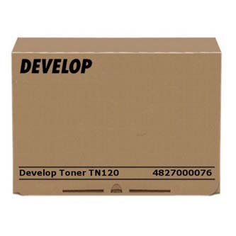 Develop originál toner 4827000076, black, 16000s, TN-120, Develop KM 240f, 1570g