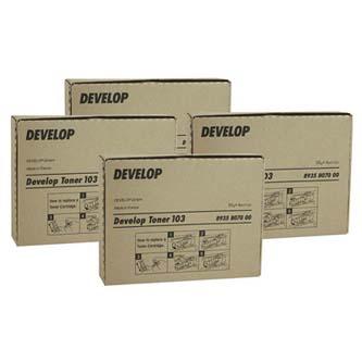 Develop originál toner 8938517, black, 20000s, TN-210K, Develop Ineo +250