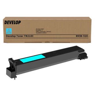 Develop originál toner 8938520, cyan, 12000s, TN-210C, Develop Ineo +250, 260g