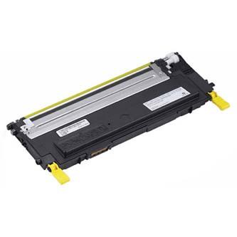 Dell originál toner 593-10496, yellow, 1000s, F479, Dell 1235CN