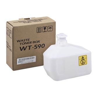 Kyocera originál odpadová nádobka WT-590, 15000str., 302KV93110, Kyocera FS-C2026MFP/C2126MFP/C2626MFP, P6021cdn/P6026cdn