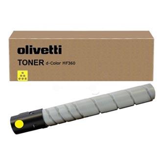 Olivetti originál toner B0842, yellow, 26000str., Olivetti D-COLOR MF 360