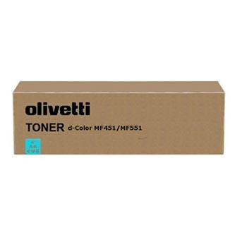 Olivetti originál toner B0821, cyan, 30000str., Olivetti D-COLOR MF 551