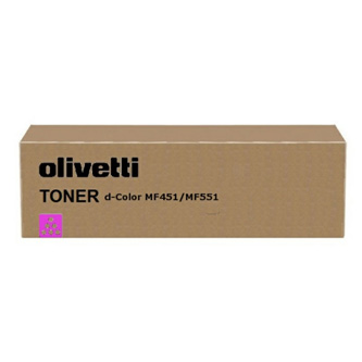 Olivetti originál toner B0820, magenta, 30000str., Olivetti D-COLOR MF 551