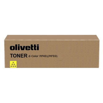 Olivetti originál toner B0819, yellow, 30000str., Olivetti D-COLOR MF 551