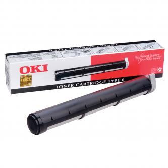 OKI originál toner 79801, black, 1500s, OKI Okipage 6w, 8w, 8p, OF4500, TYP 6