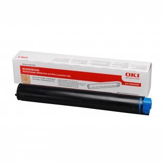 OKI originál toner 43640302, black, 2000s, OKI B2200, 2400, 2400n