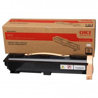 OKI originál toner 1221601, black, 33000s, OKI B930