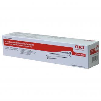 OKI originál toner 43979102, black, 3500s, OKI B410, B430, B440, MB460, MB470, M