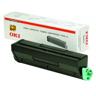 OKI originál toner 1101202, black, 6000s, OKI B4300, 4350, TYP 9