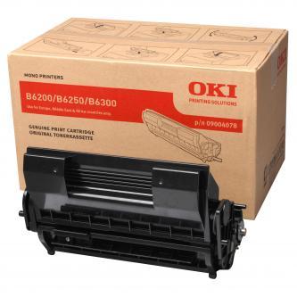 OKI originál toner 9004078, black, 11000s, OKI B6200, 6300, 6250