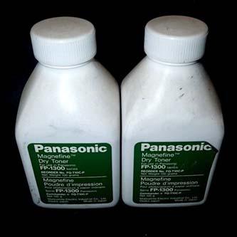 Panasonic originál toner FQ-T10C, black, Panasonic FP-1300, 1500, 1520, 2500, 2520, 2526, 2600, 100g