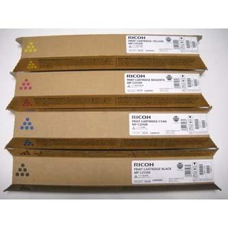 Ricoh originál toner 841197, cyan, 5500s, Ricoh MPC2550, MPC2030, MPC2050, MPC25