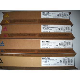 Ricoh originál toner 841504, black, 10000s, 841587, Ricoh MPC2551, 2551SP, 2031,