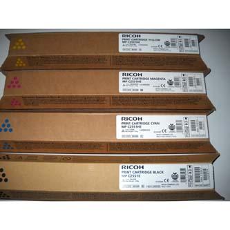 Ricoh originál toner 841507, yellow, 9500s, Ricoh MPC2551, 2551SP, 2031, 2051, 2