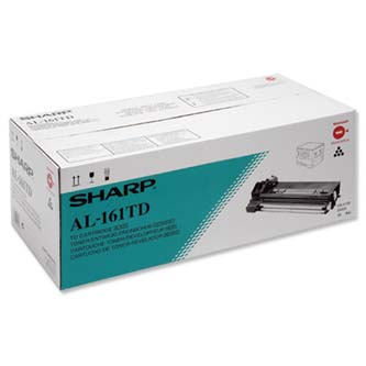Sharp originál toner AL-161TD, black, 15000s, Sharp AL-1600, AL-1670