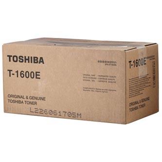Toshiba originál toner T1600E, black, Toshiba 16, 160, 335g