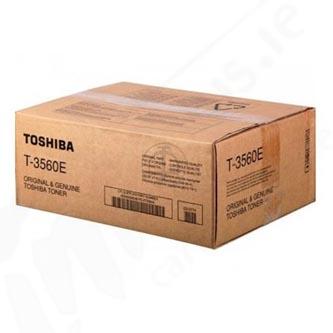 Toshiba originál toner T3560, black, Toshiba 3560, 3570, 4560, 500g