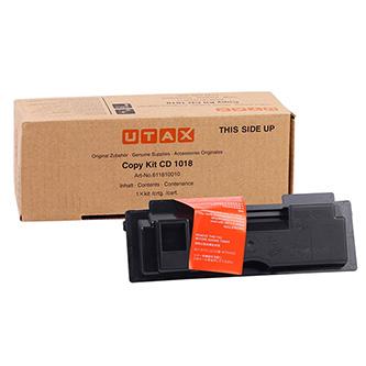 Utax originál toner 611810015, black, 6000str., 611810010, Utax CD-1018, TA DC2018