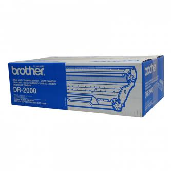 Brother originál válec DR2000, black, 12000s, Brother HL-20x0, MFC-7420
