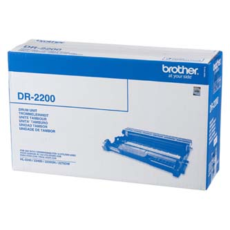 Brother originál válec DR2200, black, 12000s, Brother HL-2240D, 2250DN