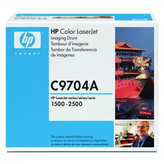 HP originál válec C9704A, black, 20000/5000s, HP Color LaserJet 1500, 2500, 2500