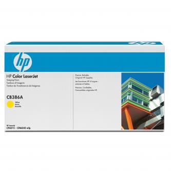 HP originál válec CB386A, yellow, 35000s, HP Color LaserJet CP6015, CM6030, 6040