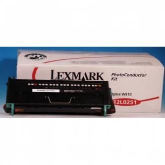 Lexmark originál válec 12L0251, black, 90000s, Lexmark Optra W810
