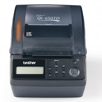 Tlačiareň samolepiacich štítkov Brother, QL-650TD